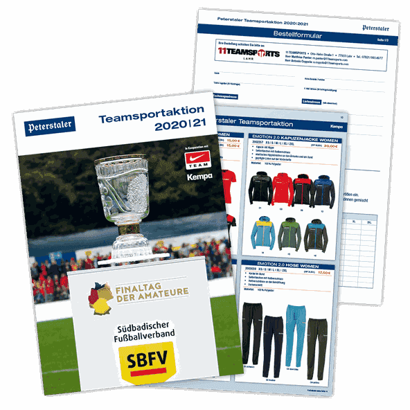 Peterstaler Teamsport-Katalog