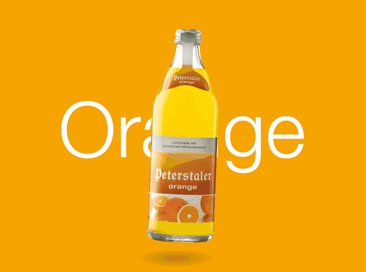 Peterstaler Orangenlimonade